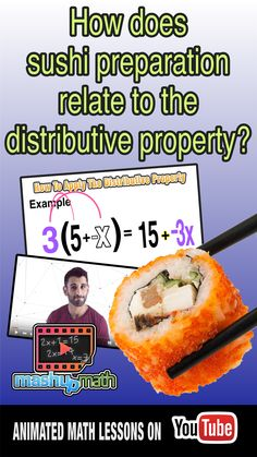Check out our newest animated math lesson, which explores the concepts and procedures associated with the distributive property. This lesson is aligned with the common core learning standards for algebra and is an excellent resource for flipped classroom math teachers and visual learners! Please subscribe to our YouTube channel to access all of our video lessons :)