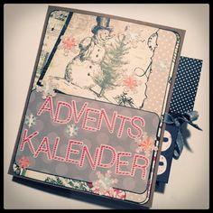 """Scrapbook -""""Adventskalender mal anders""""---DIY---Tutorial [deutsch]"""