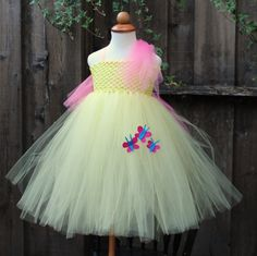 Fluttershy My Little Pony Halloween Costume by BloomsNBugs on Etsy, $65.00