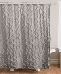 purple & gray/silver color combo...LOVE Pretty #Shower #Curtain with ...