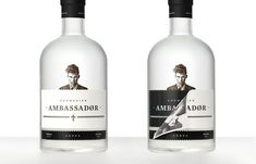Ambassadør Vodka. By Joakim Jansson for Bleed (Norway).