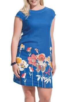 zedd Joselyn Dress in Saxblue - Beyond the Rack