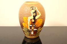 Traditional Oriental Lady Vase #ethnologi for $25.00 @ www.ethnologi.com.au