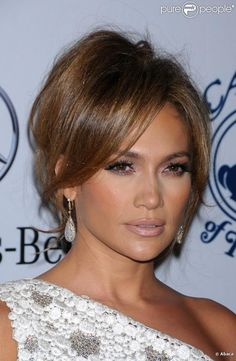 i'll take it...makeup is perfect - Jennifer Lopez.