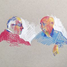 Caran d'Ache colouring pencils on midtone A5 paper. #art #drawing #sketchbook