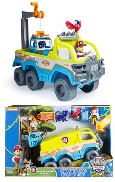 The kids will love this Paw Patrol Terrain Play Set - comes with Tracker too! Toy Cars For Kids, Toys For Girls, Children Toys, Baby Girls, Boy Car Room, Kids Spiderman Costume, Army Men Toys, Paw Patrol Toys, Toddler Girl Gifts