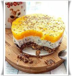 Serniczek z brzoskwinią - Fit Food Brunetki