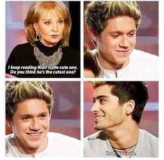 <3 Awww Ziall my OTP forever no joke << Zayn's eyes are quite literally sparkling!