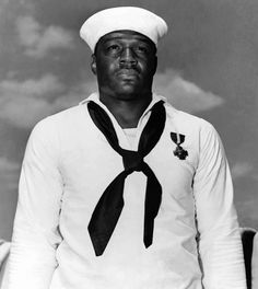 Today In History  'Dorie Miller, a messman on the USS Arizona who shot down four planes during the Pearl Harbor attack, was born near Waco, TX, on this date October 11, 1919.'