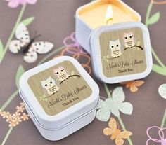 24-Personalized-Woodland-Owl-Baby-Shower-Square-Candles-Candle-Tins-Favors