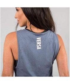 Versa Forma Motif Tia Vest Carolina Blue-Versa Forma-Gym Wear