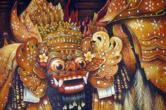 Hand painting Balinese