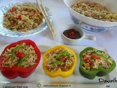 Geeths Dawath : Capsicum fried rice