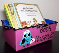 Have a Book Hospital bin near your classroom library.  That way, students can place books there anonymously (and not feel embarrassed because they damaged a book).