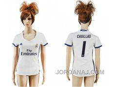http://www.jordanaj.com/womens-real-madrid-1-casillas-home-soccer-club-jersey.html WOMEN'S REAL MADRID #1 CASILLAS HOME SOCCER CLUB JERSEY Only 18.68€ , Free Shipping!