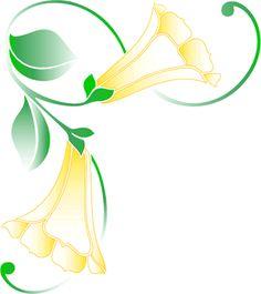 Gallery For > Easter Flower Clipart