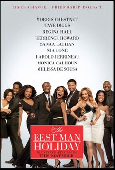 The Official Best Man Holiday Poster