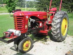 Massey Harris Combines For Sale | Used Farm Tractors for Sale - Massey Harris Pulling Tractor (2010-07 ...