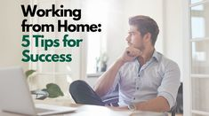 Did your job relocate you to your home office? Here are some tips for making work-from-home work for you!