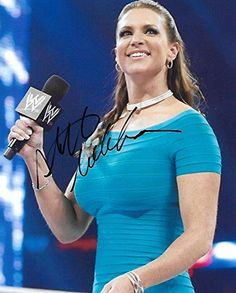 Stephanie McMahon, WWE Wrestler, Signed, Autogrpahed, 8X10 Photo, a COA Will Be Included