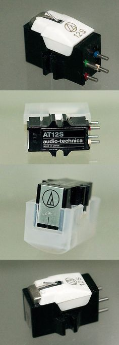Record Player Turntable Parts: Audio-Technica At12s Phono Cartridge - Shibata Stylus - Nos -> BUY IT NOW ONLY: $221 on eBay!