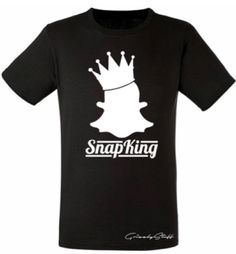 Snapking heren t-shirt – Armoowasright