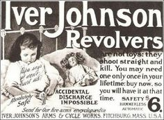 "Accidental discharge impossible and absolutely safe. My favorite - ""Papa says it won't hurt us"""