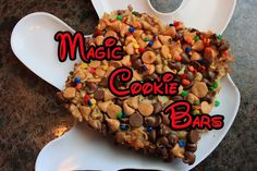 The Disney Diner: Magic Cookie Bars Recipe from Disney's Wilderness Lodge... deliciousness!!!