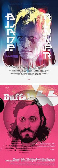 Blade Runner Buffalo 66 Vector Movie Poster