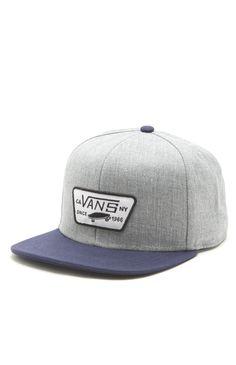 Vans Full Patch Snapback Hat #pacsun
