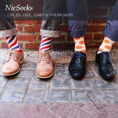 LTD. ED. COOL, COMFY & STYLISH SOCKS. NicSocks is an environmentally friendly, South African company that's all about dressing men from the ground up. Their limited edition, loud, fun and stylish socks are made from 100% bamboo so each and every playful pair is environmentally friendly, anti-bacterial and super comfortable. Which block, line or dot will you rock?  www.citymob.co.za