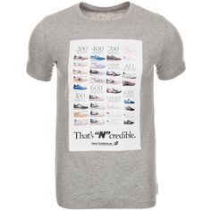 NEW BALANCE EMT61734 Ncredible T-Shirt Herren