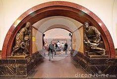 Resultado de imagen para estaciones del metro de rusia