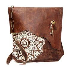 Campomaggi Lavata Shoulder Bag Leather Cognac 15