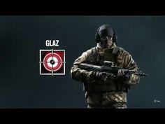 Tom Clancy's Rainbow Six Siege Operators Video : Glaz