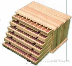 Collectors Chest Plan - Woodworking Plans and Projects | WoodArchivist.com