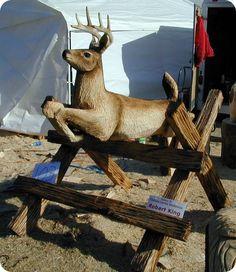 Deer by Bob King  www.ChainsawKing.com