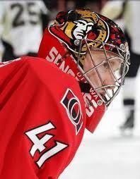 Ottawa Senators goalie Craig Anderson. My fav!