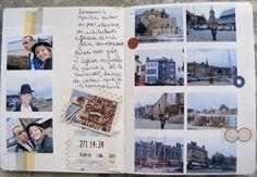 19 ideas travel scrapbook binder for 2019 Travel Essentials For Women, Packing Tips For Travel, Travel Photo Album, Art Journal Inspiration, Journal Ideas, Honfleur, Scrapbook Designs, Travel Design, Travel Scrapbook