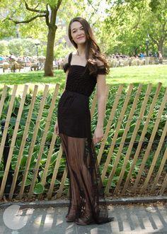 DIY Peekaboo Prom Dress Tutorial