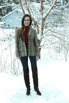 fashion over 40 How to style with scarves @ High Latitude Style @ http://www.highlatitudestyle.com
