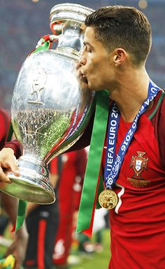 Cristiano Ronaldo has been selected as the European Sportsperson of 2016 by the European news agencies.  He is the first footballer to win the award.