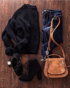 Fall Winter Outfits, Autumn Winter Fashion, Winter Looks, Fishnet Outfit, Stylish Outfits, Fashion Outfits, College Fashion, Outfits For Teens, Work Outfits