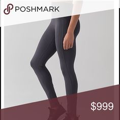 ISO GRAY Lululemon - All the right places ll If you have the All The Right Places Pant ll in the blue tied (grey) color size 8 I'll buy them from you. :)   They are sold out in my size. lululemon athletica Pants Leggings