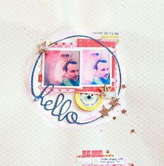 Stars In Her Eyes by dear lizzy at @Studio_Calico - 12x12 layout #SCbluegrassfarm