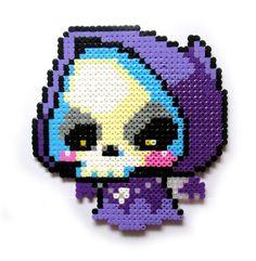Maplestory Jr. Reaper perler bead sprite by AenysBeadArt on Etsy