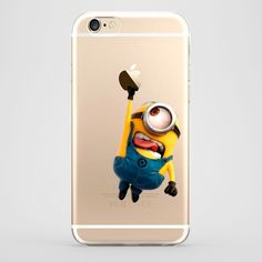 Funda iPhone 6 Stuart Minion Transparente #iphone6 #fundaiphone6 #iphone6plus #accesoriosiphone6 #tutiendastore #minion #stuart