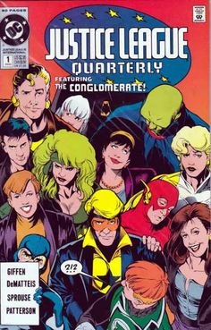 Justice League Quarterly #1 Keith Giffen