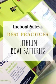 Lithium batteries are a big upgrade on any boat. Are they worth the price? What advantages do they offer? Review and comparison to lead-acid batteries.