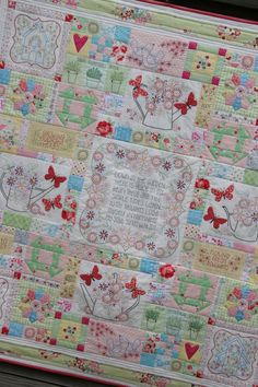 I love everything Leanne Beasley creates.  I love her style of quilts!